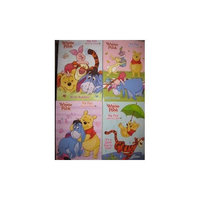 Disney Winnie the Pooh Big Fun Book to color Set of 4 (It's a Great Day to Play, Silly Time, Special Pals, We're Buddies!)