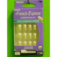 Nailene French Color Express Peach Tint Square