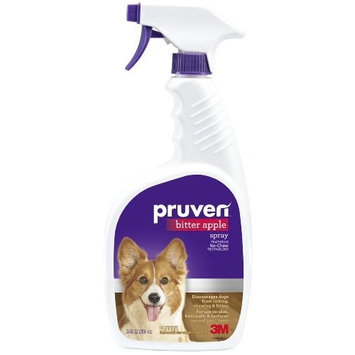 Pruven P-BAS-24 Bitter Apple Spray with Trigger Spray, 24 Fluid Ounce