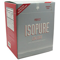 Nature's Best Perfect Isopure Low Carb Strawberries & Cream Protein Drink Mix Powder