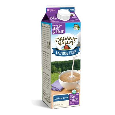 Organic Valley® Lactose-Free Half & Half, Quart