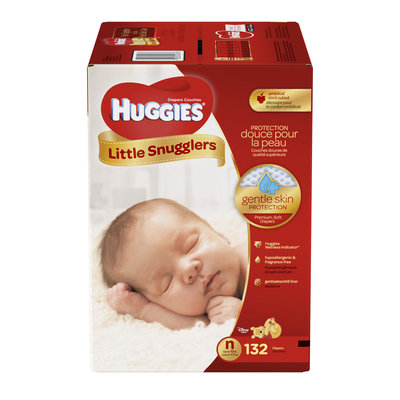 Huggies® Little Snugglers Diapers Size N