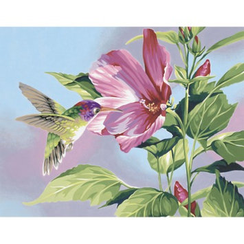 Notions Marketing Dimensions Paint By Number Kit - Hibiscus Hummingbird (11x14