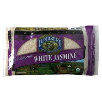 Lundberg Family Farms Rice, Jasmine, Organic California White, 2 LB (Pack of 6)