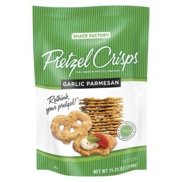 Pretzel Crisps Garlic Parmesan Pretzel Crackers 11.25 oz