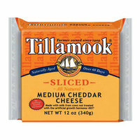 Tillamook All Natural Sliced Medium Cheddar Cheese