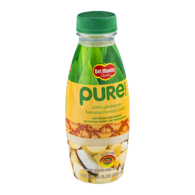 Del Monte Pure Earth 100% Pineapple Banana Coconut Juice
