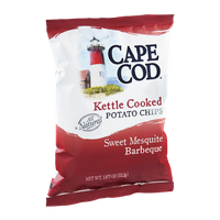 Cape Cod Kettle Cooked Potato Chips Sweet Mesquite Barbeque