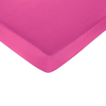 Jo Jo Designs Isabella Fitted Crib Sheet - Hot Pink