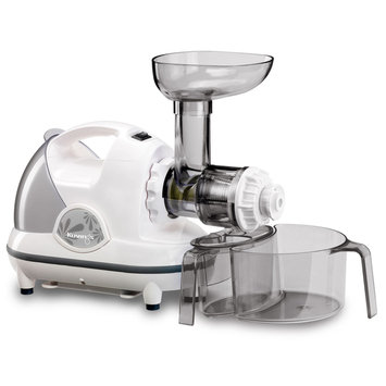Cam Consumer Products, Inc. Kuvings Masticating Slow Juicer, White Pearl