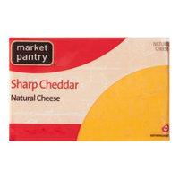 Market Pantry Natural Sharp Cheddar Cheese - 16 oz.
