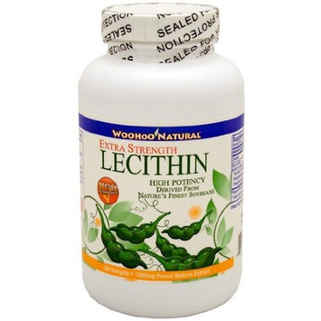 WooHoo Natural Extra Strength Lecithin 180 Softgels - 3 Months Supply