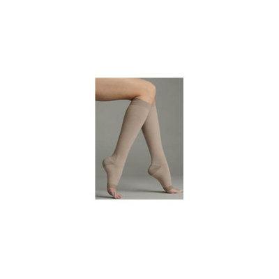 Juzo 2062AD III III Silver Soft Open Toe Knee High Regular 30-40 mmHg Compression Stockings