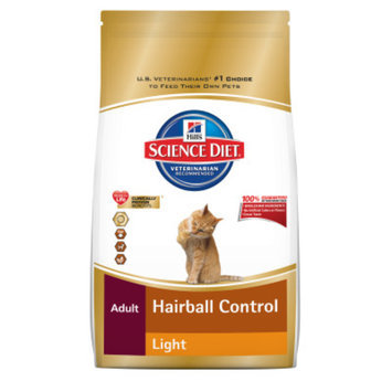 Hill's Science Diet Hill'sA Science DietA Hairball Control Light Adult Cat Food