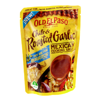 Old El Paso Mexican Cooking Sauce Chile & Roasted Garlic Mild