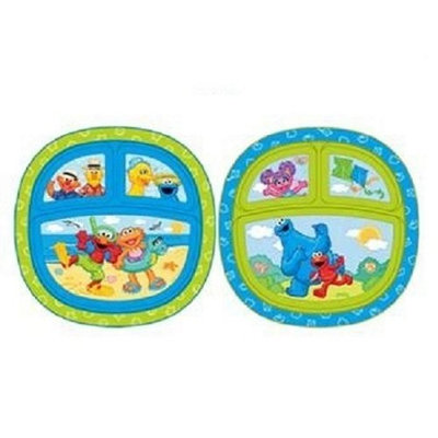 Munchkin Sesame Street Toddler Plate (Discontinued by Manufacturer)