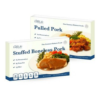 EasyLife Diabetic Meals 7 Meal Plan All Pork