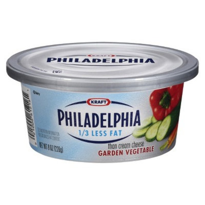 Philadelphia Reduced Fat Garden Vegetable Cream Cheese