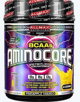 ALLMAX Nutrition Aminocore Pineapple Mango 44 Servings