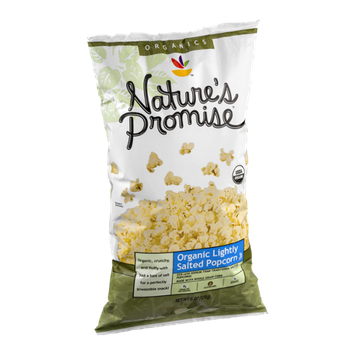Nature's Promise Organic Popcorn Lightly Salted