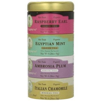 Zhena's Gypsy Tea Variety Sampler Tin, 16-Count Tea Sachets