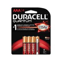 Quantum Alkaline Batteries with Duralock Power Preserve Technology, AAA, 4/Pk QU2400B4Z