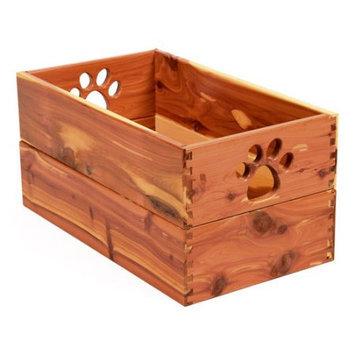 Dynamic Accents 42132 Small Pet Toy Box Cedar