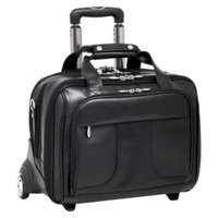 Mcklein Usa McKlein USA Chicago Leather Detachable-Wheeled Laptop Case