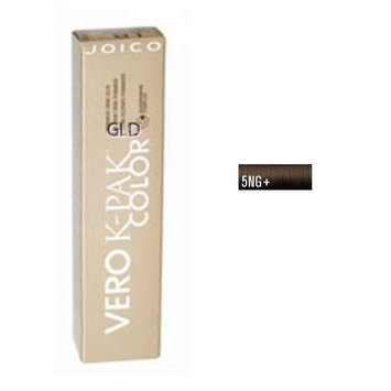Joico Vero K-Pak Age Defy Color Permanent Creme Color 5 NG+ Medium Natural Brown