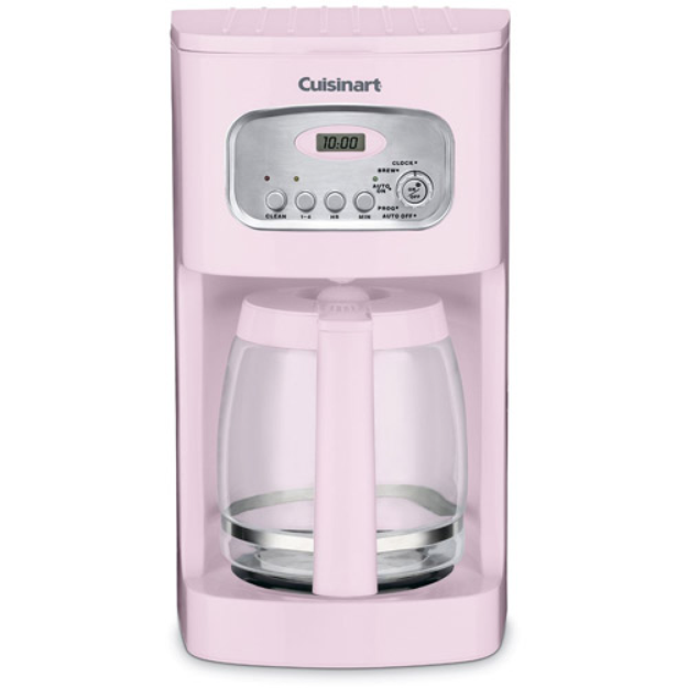 Cuisinart 12-Cup Programmable Coffeemaker, Pink