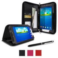 rooCASE Samsung Galaxy Tab 3 8.0 Case - Executive Portfolio Leather 8-Inch 8