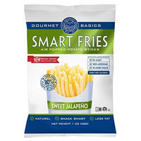 Gourmet Basics Smart Fries Jalapeno Trio, 1-Ounce Bags (Pack of 24)