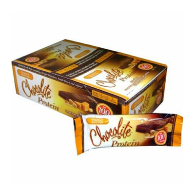 HealthSmart Chocolite Bar Peanut Butter Case of 16 34 Grams