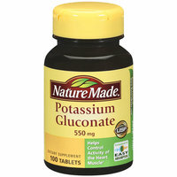 Nature Made Potassium Gluconate Tablets