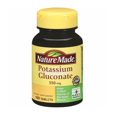 Nature Made Potassium Gluconate Tablets
