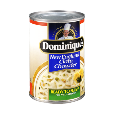 Dominique's New England Clam Chowder Ready to Serve Soup
