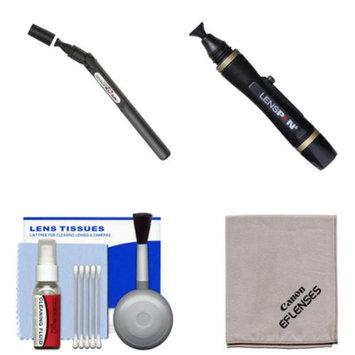 LENSPEN Lenspen SensorKlear II SENSOR Cleaning Pen with Kit for Canon EOS 6D, 70D, 5D Mark II III, Rebel T3, T3i, T4i, T5, T5i, SL1 DSLR Cameras