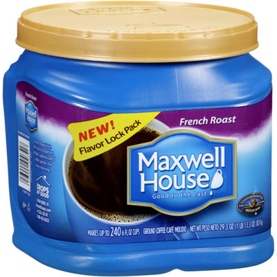 Maxwell House Ground Coffee, French Roast, 29.3 oz