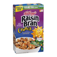 Kellogg's Cereal Raisin Bran Crunch