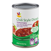 Ahold Chili Style Diced Tomatoes