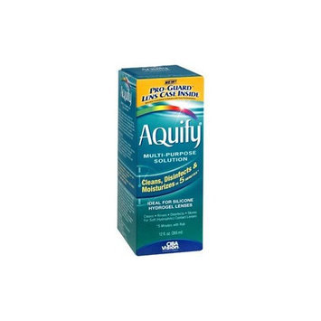 AQuify Ciba Vision Multi-purpose Solution 12 oz