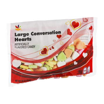 Ahold Large Conversation Hearts