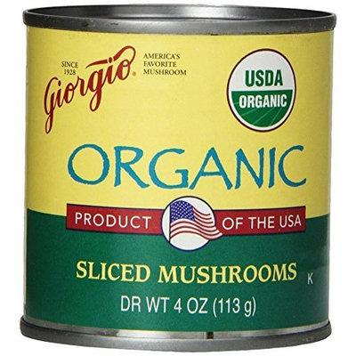 Giorgio Mushrooms, Sliced, Organic, 4-Ounce (Pack of 12)