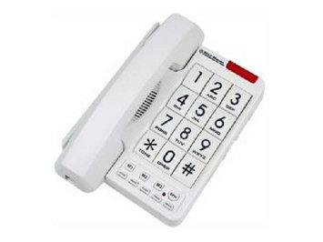 NORTHWESTERN BELL MB2060-1 BIG BUTTON PHONE WHITE