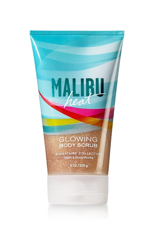Bath & Body Works Signature Collection MALIBU HEAT Glowing Body Scrub