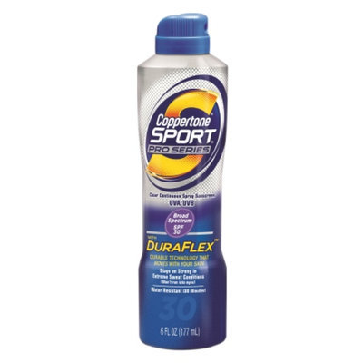 Coppertone Sport Pro Series Clear Continuous Spray Sunscreen