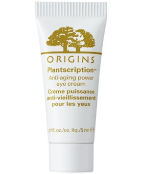 Receive a Free Plantscription Power Eye Cream 5ml with $45 Origins purchase