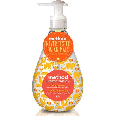 method hand wash mimosa sun