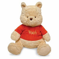 Winnie The Pooh Large Plush Pooh