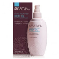 SpaRitual Close Your Eyes Body Oil 7.7 oz